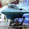 三屏幕飞行模拟器 飞行模拟设备 各类液压模拟平台设备定制加工